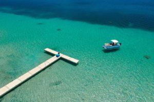 Pontoon Boat Lagoon